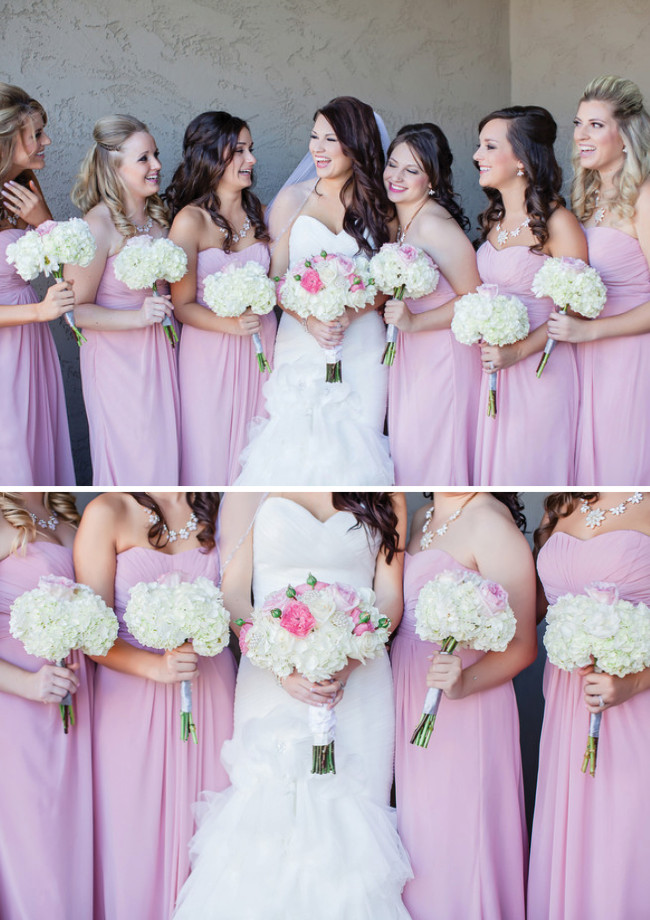 breathtaking wedding bouquet white hydrangea pink and blush garden roses click to blog