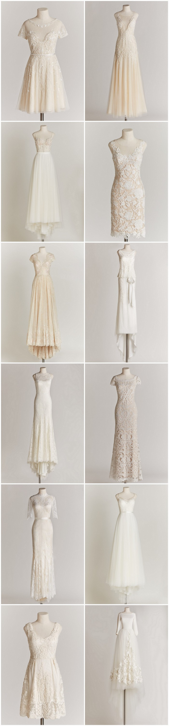 Chic Sophisticated Wedding Dresses for the Refined Romantic