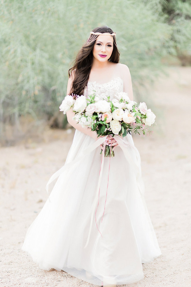 Etheral Bride in Watters Penelope Wedding Dress - Jessica Q Photography