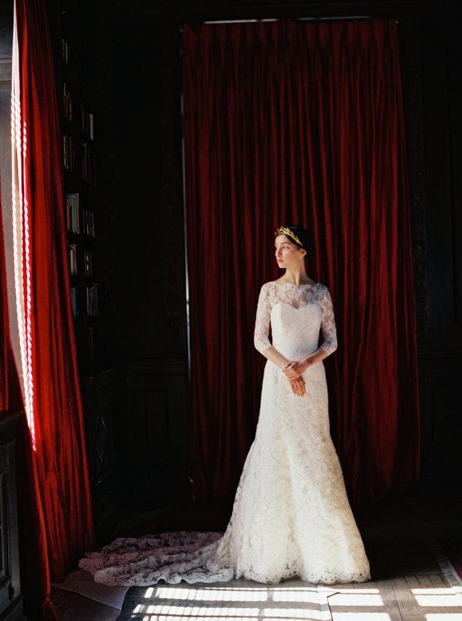 Sareh Nouri Lace Wedding Dress (6)