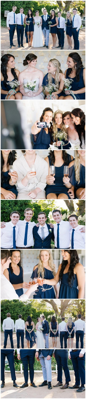 Navy Blue Bridal Party Ideas / Marli Koen Photography