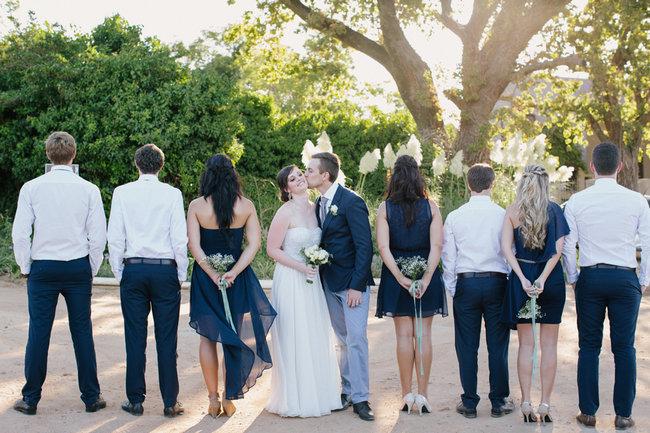 Navy & Grey Wedding at Kronenburg {Marli Koen Photography}
