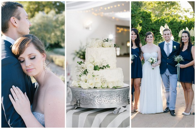 Navy & Grey Wedding at Kronenburg {Marli Koen Photography}