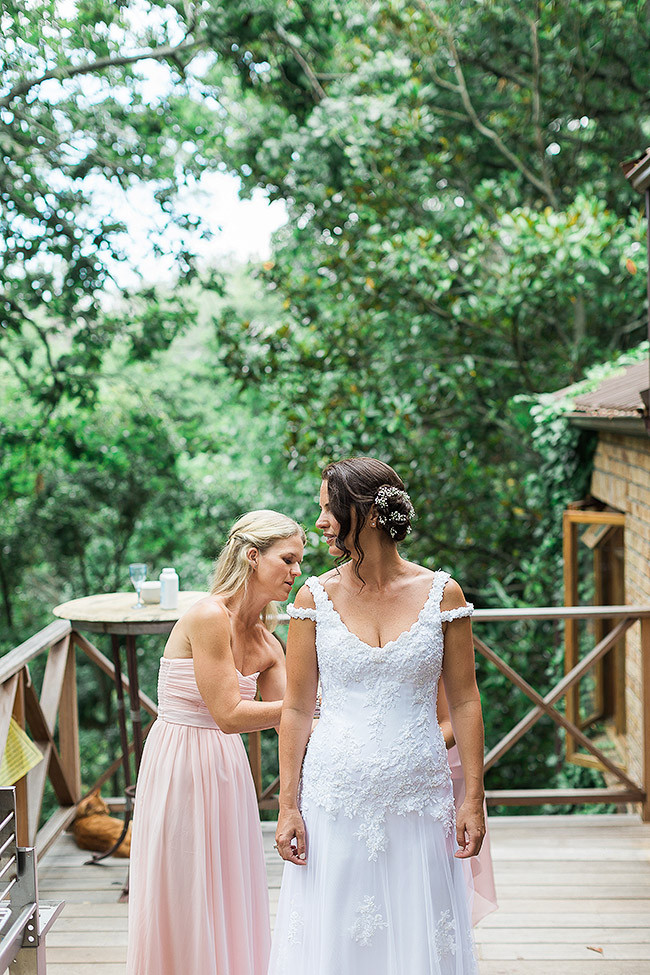 Romantic Courtyard Wedding Cape Town - Jo Stokes Photography
