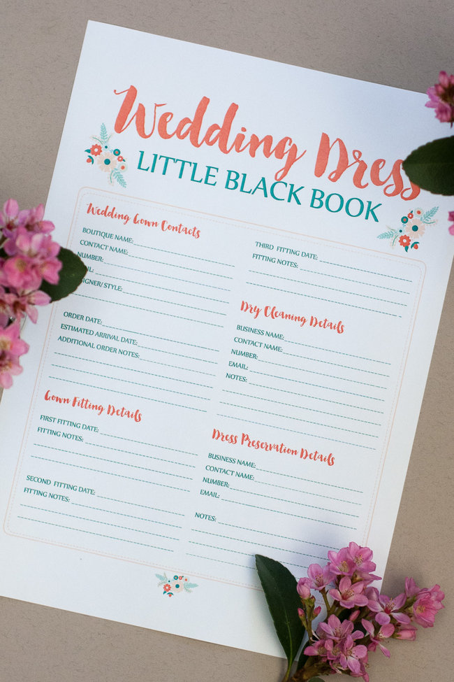 Wedding Dress Planning Timeline 22