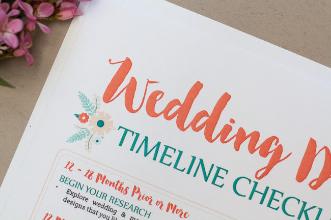 Wedding Dress Planning Timeline 30