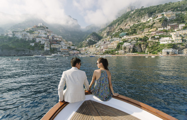 Lose Yourself in This Epic Amalfi Engagement Session {darinimages}