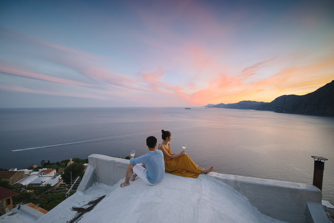 Amalfi Engagement Photo Ideas - darinimages photography