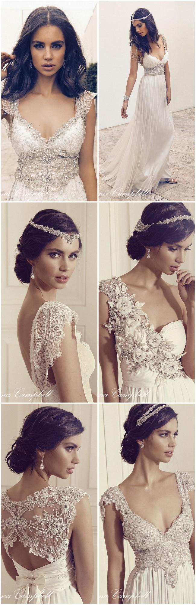 Anna Campbell Wedding Dress 2016 )