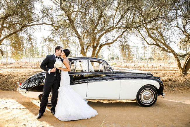 Classic Elegant Gold Black White Wedding - Nikki Meyer Photography