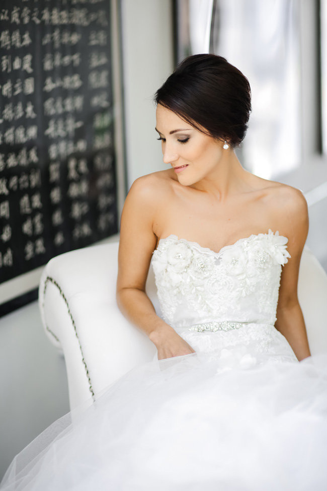 Classic Elegant Gold Black White Wedding (43)