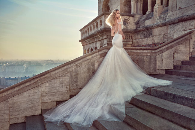 See Galia Lahav Haute Couture's spectacular new 2016 Ivory Tower Wedding Dress Collection
