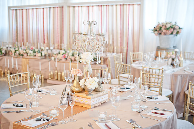 Gold and Pink Wedding - Kathryn van Eck Photography