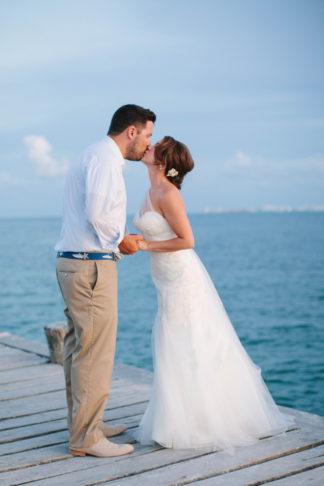 Colorful Isla Mujeres Destination Wedding - Jessica Arden Photography