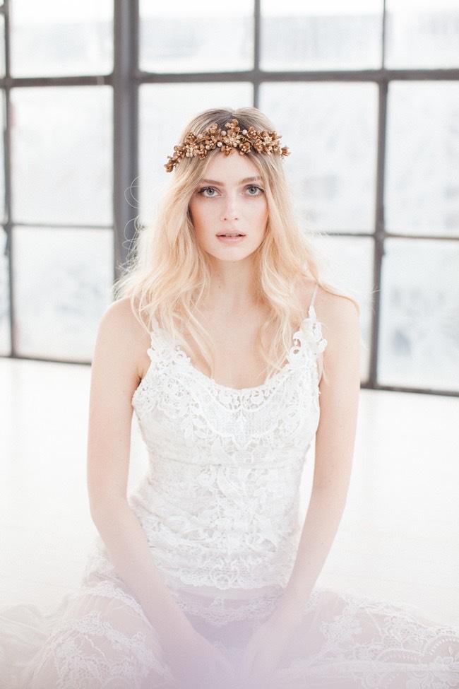 Jannie Baltzer Wild Nature Bridal Headpiece Collection 2016 - Sandra Aberg photography