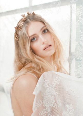 Jannie Baltzer Wild Nature Bridal Headpiece Collection 2016 - Sandra Aberg photography