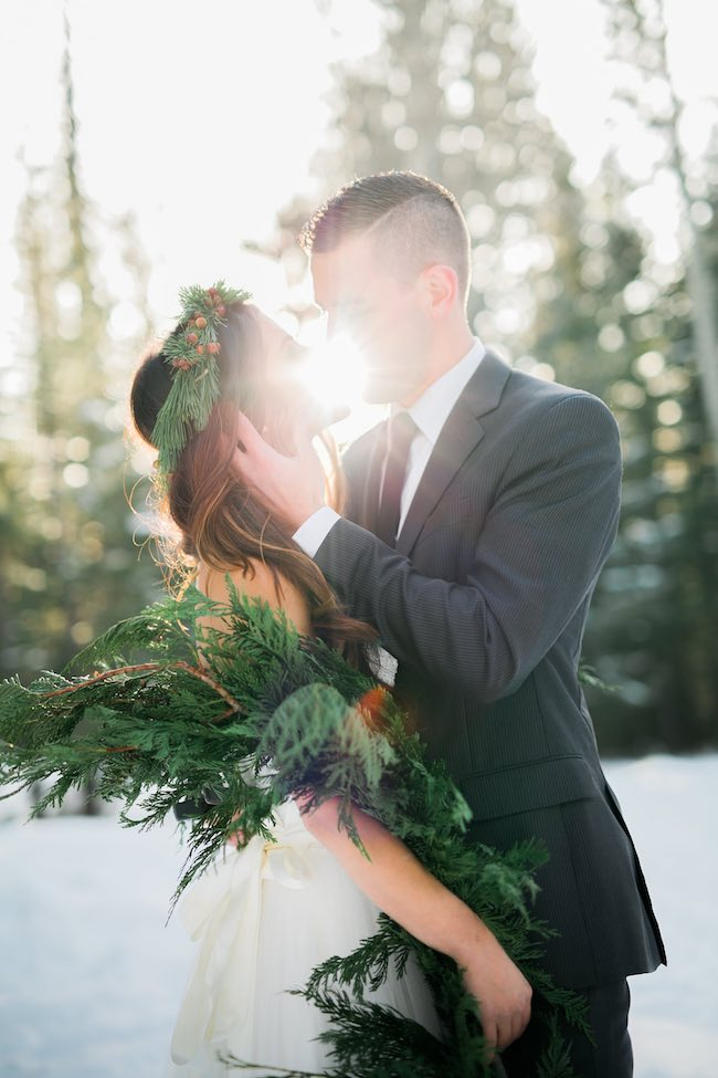 Winter Bride Ideas - Ashley Rae Photography