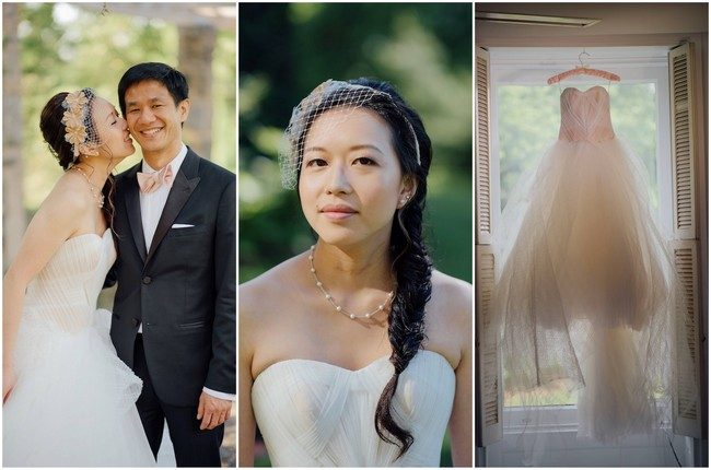 Beautiful Outdoor Chinese Tea Ceremony Wedding in New York {Ryan Brenizer Photography}