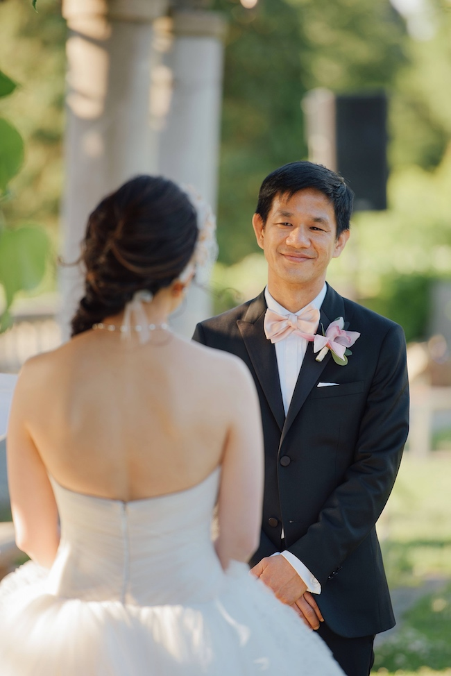 Outdoor Chinese Tea Ceremony Wedding - Ryan Brenizer Photography