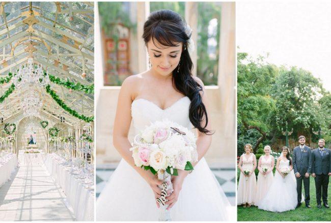 Romantic Johannesburg Garden Wedding {Mighty Fine Productions}