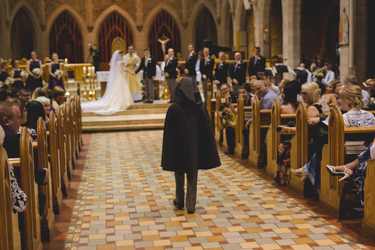 Romantic J.R.R. Tolkien Wedding {ENV Photography}