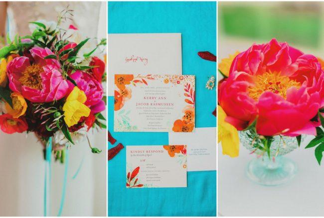 Bright + Colorful Golden Gate Garden Wedding {Milou + Olin Photography}