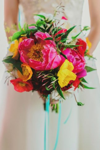 Bright + Colorful Golden Gate Garden Wedding. Pics: Milou + Olin Photography