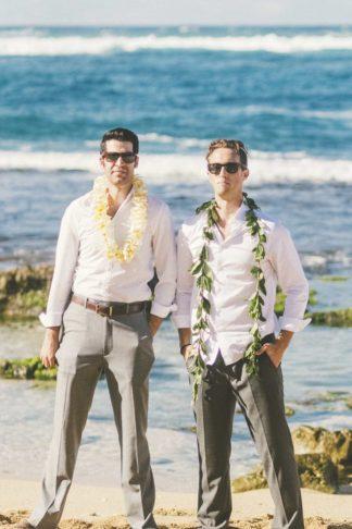 Laid Back Tropical Maui Destination Beach Wedding. Angie Diaz Photography