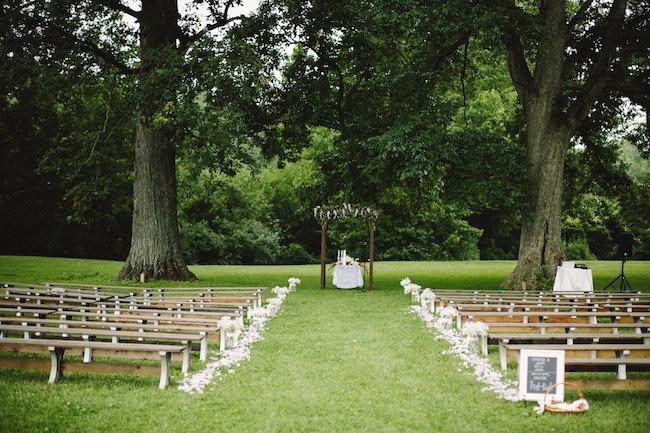 Blush Indiana Barn Wedding