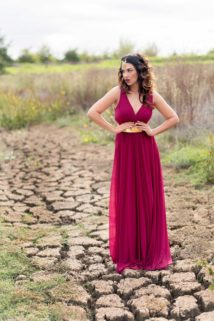 How to mix and match winter + fall bridesmaid dresses