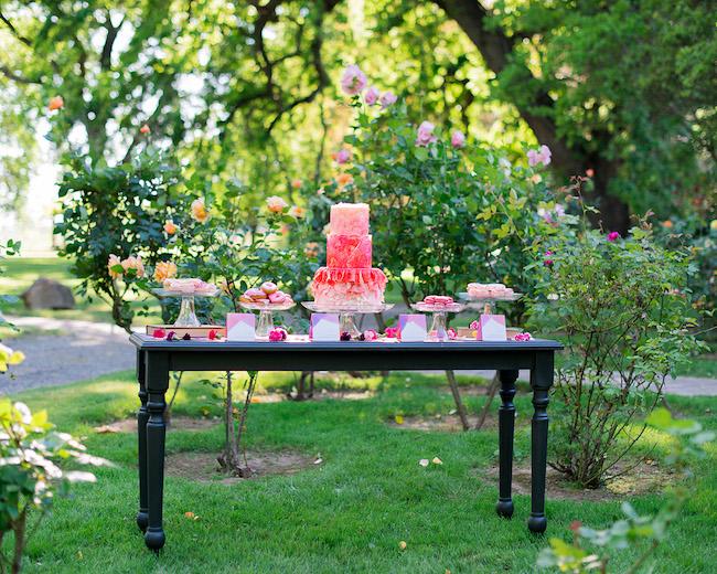 Alice in Wonderland Garden Wedding