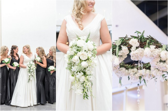Glam urban all white wedding monique hessler photography junglespirit Image collections