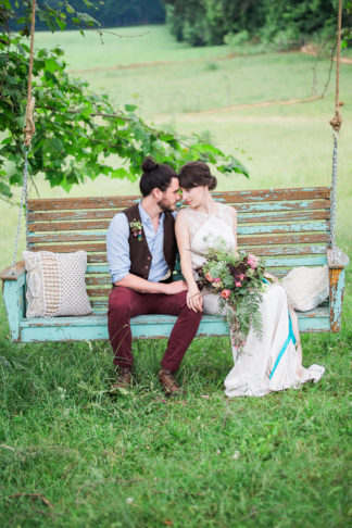Bohemian themed Wedding Ideas