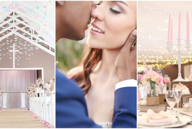 Enchanting Fairy Lights Wedding {Open Image Photography}