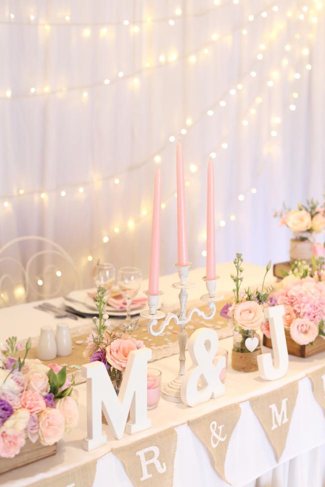 enchanting fairy lights wedding twinkling perfectly