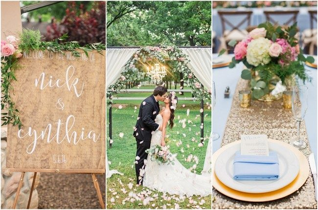 Romantic Garden Wedding in Arizona {Jessica Q Photography}