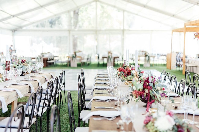 Marsala Gold Farm Wedding