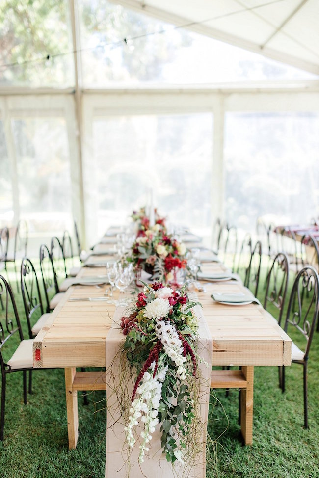 Marsala Gold Farm Wedding