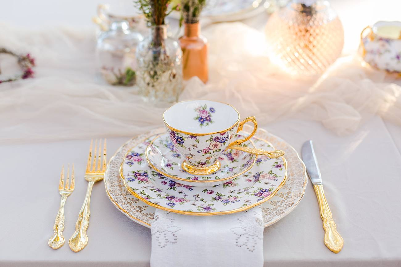 Watercolor Kitchen Tea Ideas by Something Pretty + Katie Mayhew Photography