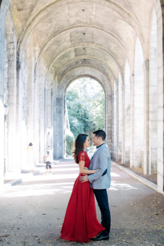Cloisters Manhattan Engagement Pictures