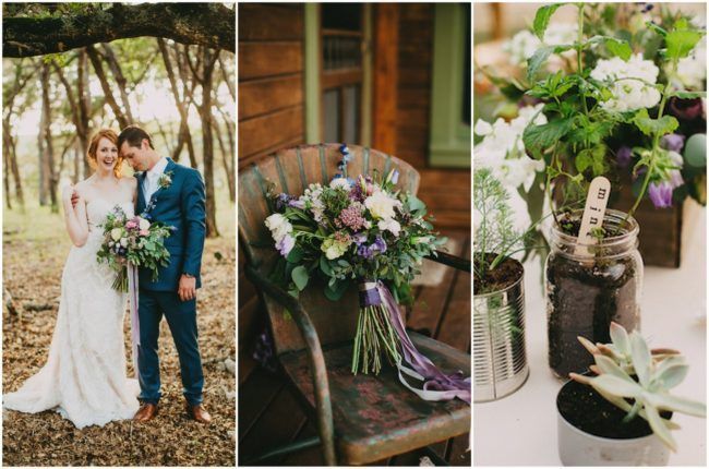 Intimate, Organic Texas Hill Country Wedding {Two Pair Photography}