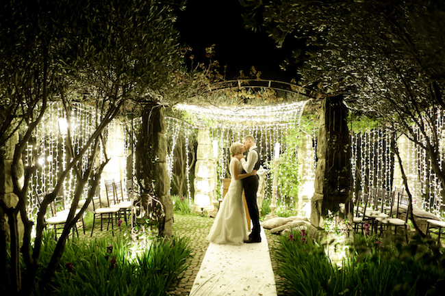 Mesmerizing twinkling outdoor night wedding ceremony nola photography outdoor night wedding ceremony outdoor night wedding ceremony junglespirit Images