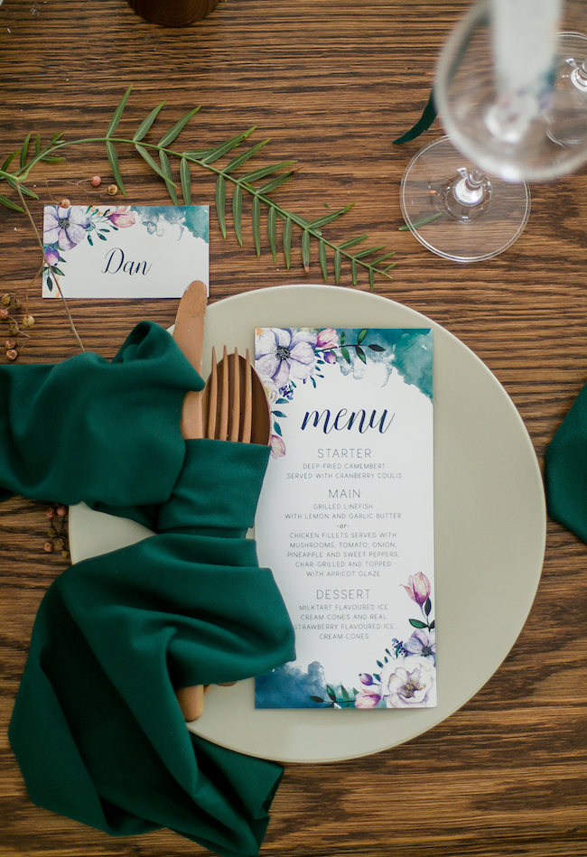 Ethereal Watercolour-Inspired Teal and Gold Wedding Ideas {Chenel ...