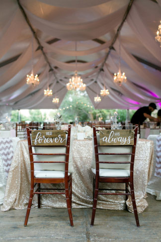 Champagne and Blush Wedding