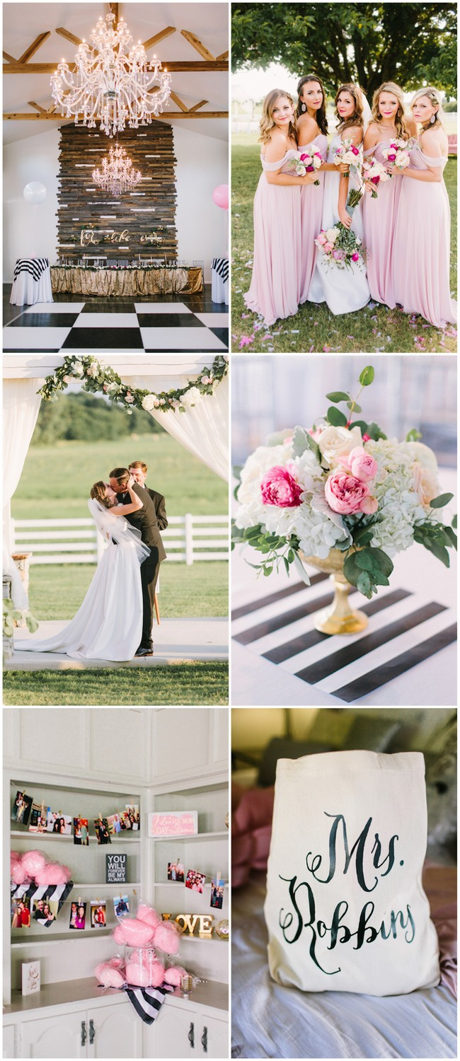 Modern Kate Spade Inspired Wedding