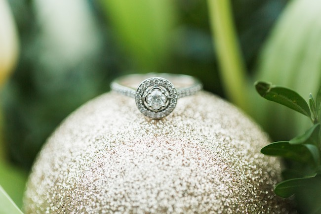 Natural Winter Holiday Wedding Ideas in Green