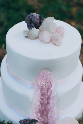 Geode and Crystal Wedding Ideas