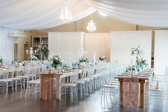 Peach, Copper and Mint Eensgezind Durbanville wedding