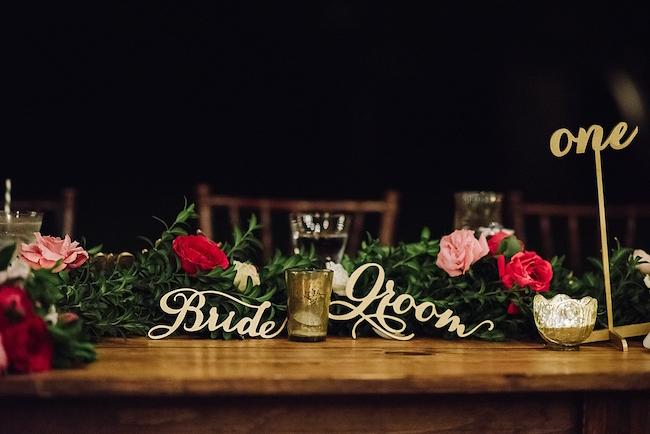 Fuchsia Blush Cream Beach Wedding