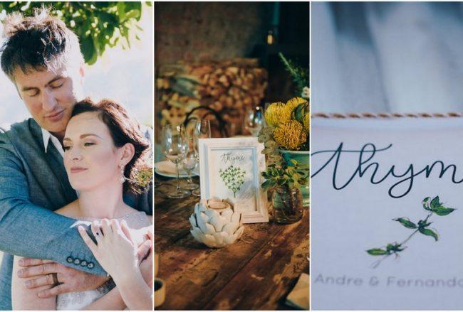 Beautiful Rustic Herb Wedding {Lauren Pretorius Photography}
